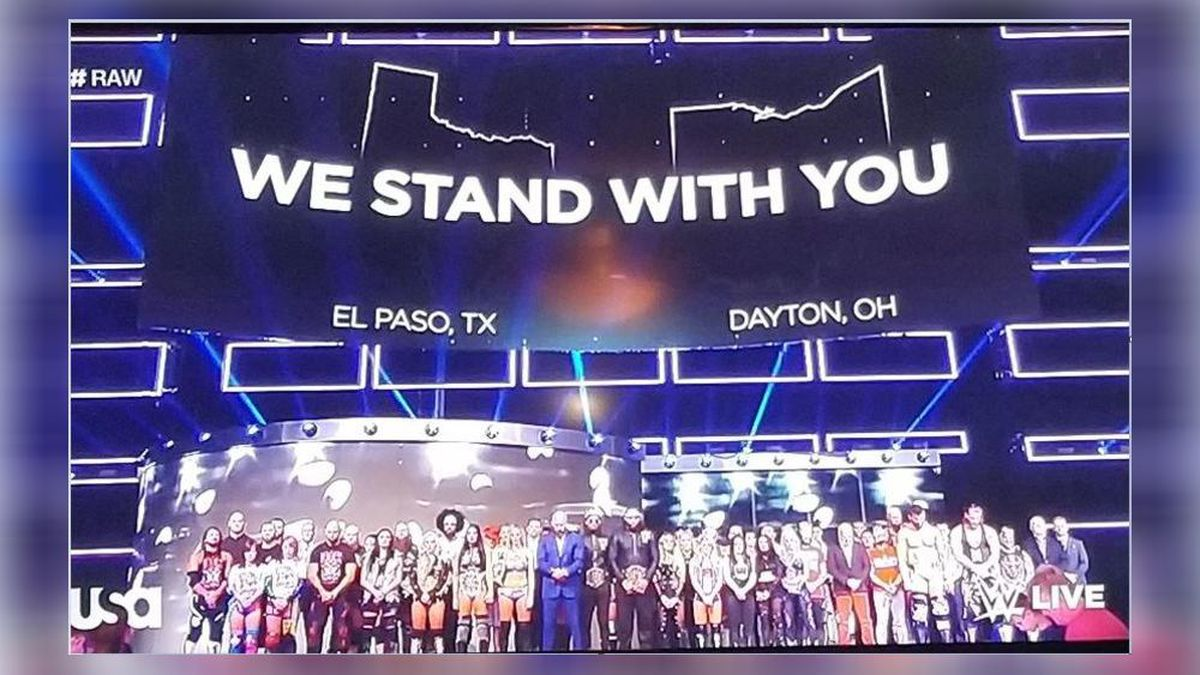 Dayton Shooting: WWE talent, fans honor Oregon District victims with salute