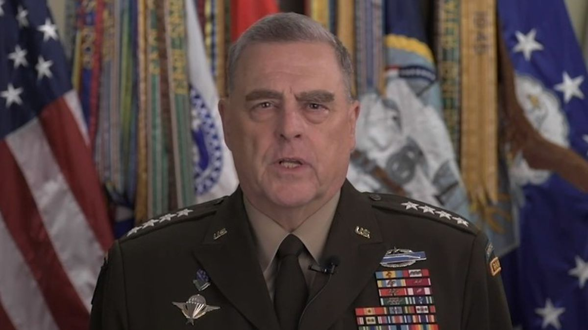 """Top General on Trump walk: """"I should not have been there."""""""