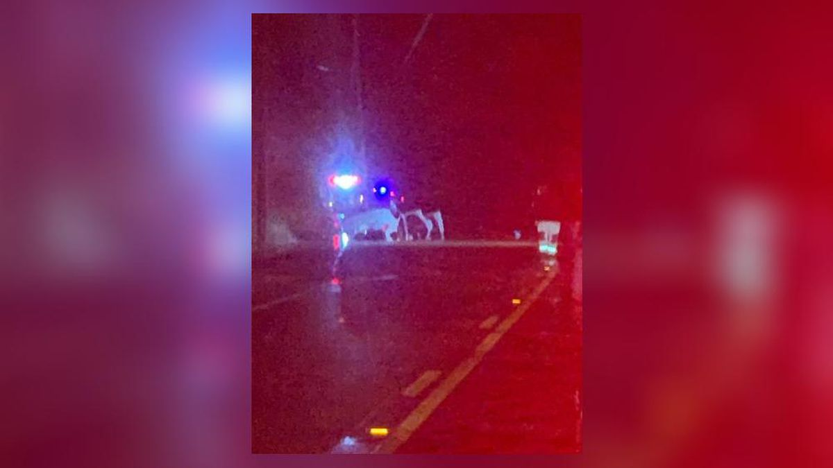 Driver who overturns car in high water identified, listed in critical condition