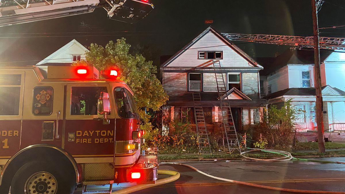Crews extinguish fire on Germantown St. in Dayton