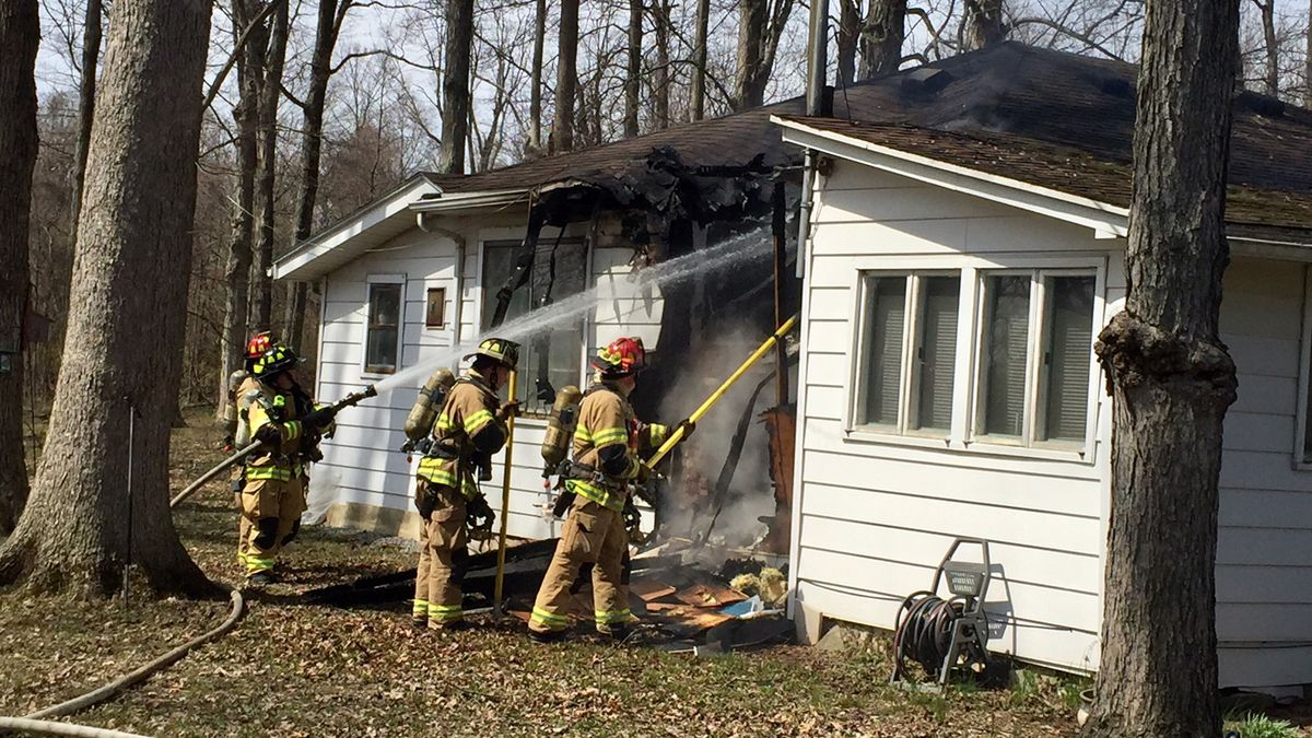 Fire reported at Beavercreek house