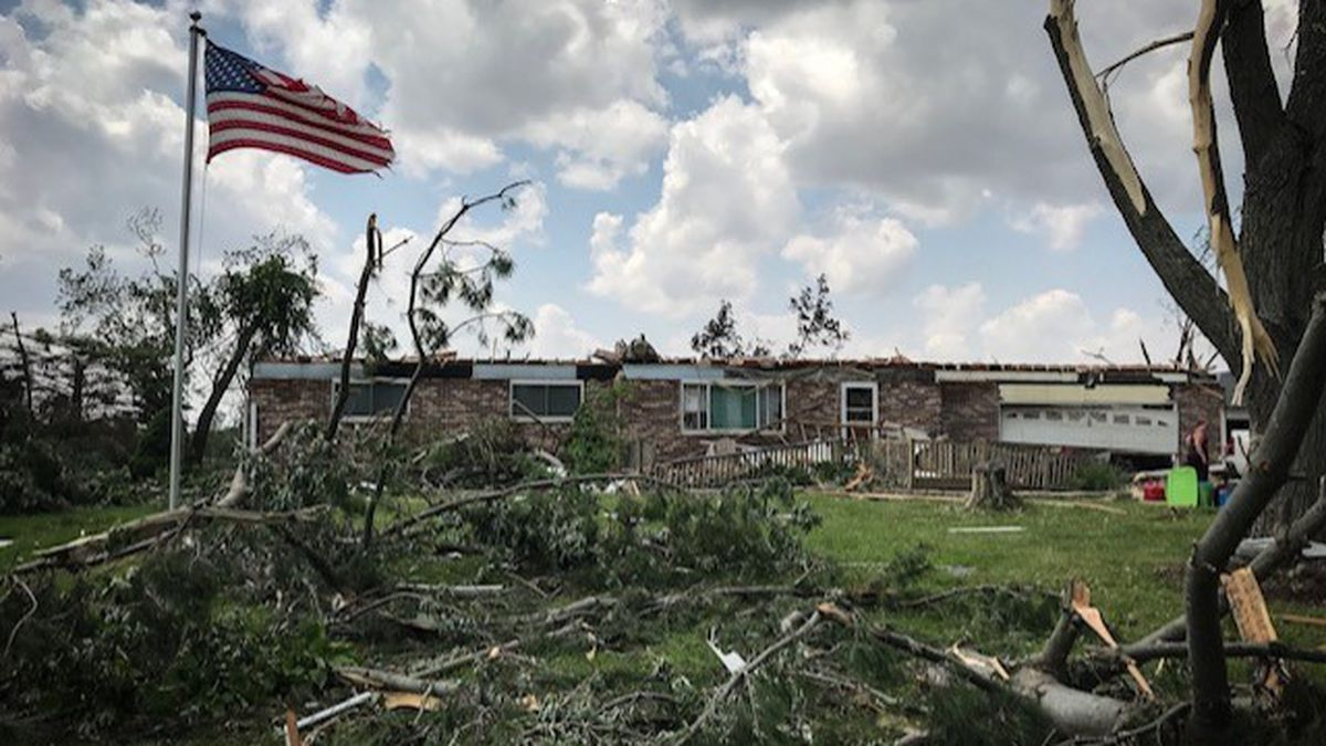 Several EF-3 tornadoes touch down in the Miami Valley. What is the EF scale?