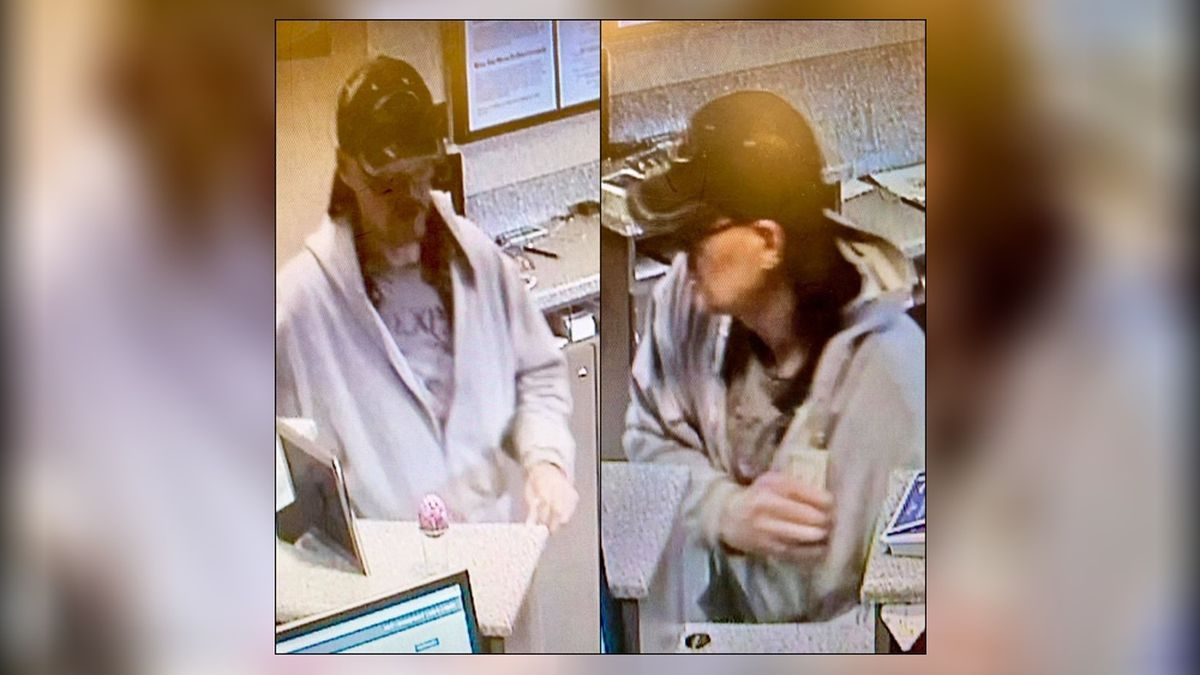 Kettering police looking for bank robbery suspect