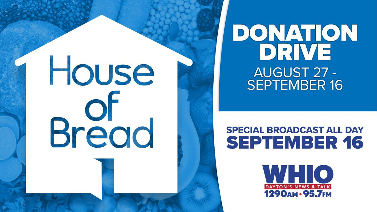 WHIO Radio hosts virtual donation drive for The House of Bread