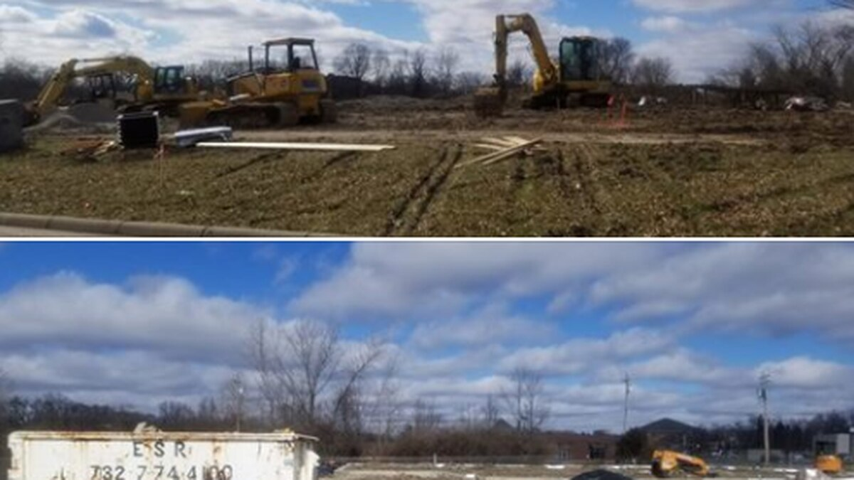 New Springboro park, PAC, splash pad construction going strong
