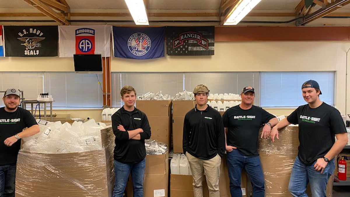 Coronavirus: Local company change its daily operation to help first responders