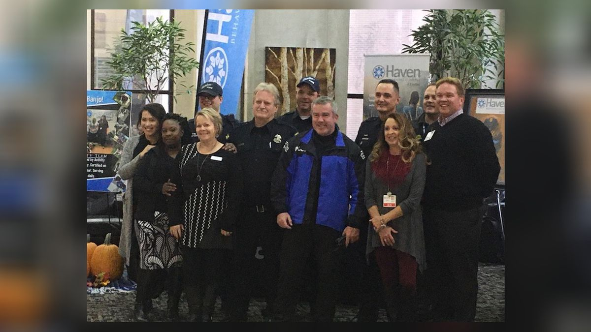 Dozens attend Coffee with First Responders Tuesday morning