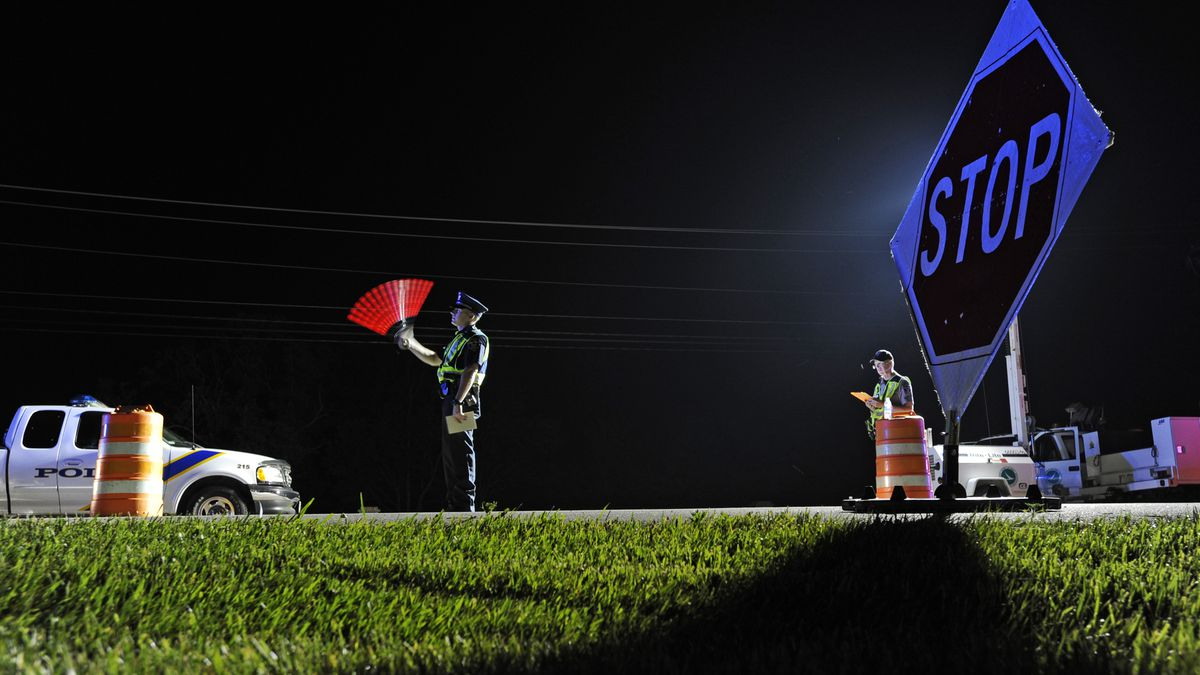 Dayton Police release results from Friday night's OVI checkpoint