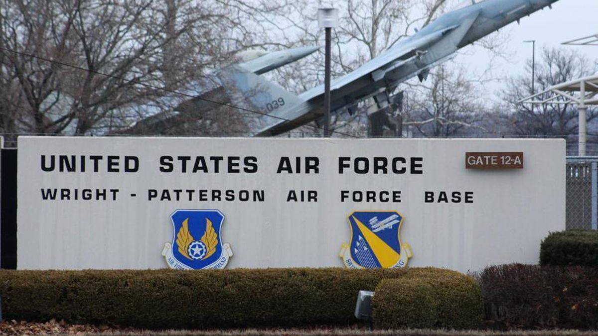 Wright-Patt Air Force Base weather forecast for today
