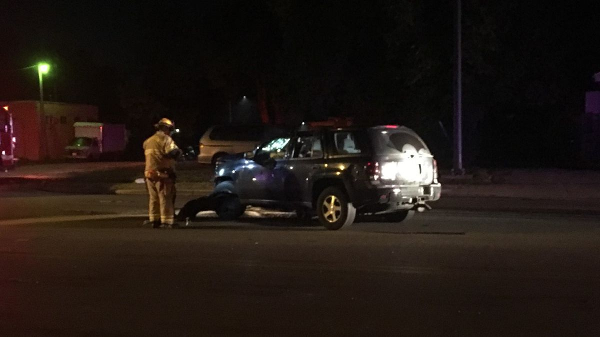 Driver slams into bus stop, utility pole in Harrison Twp. crash