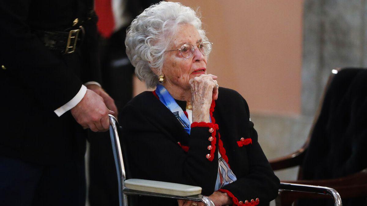 Annie Glenn, widow of Sen. John Glenn, dies at 100 of COVID-19 complications