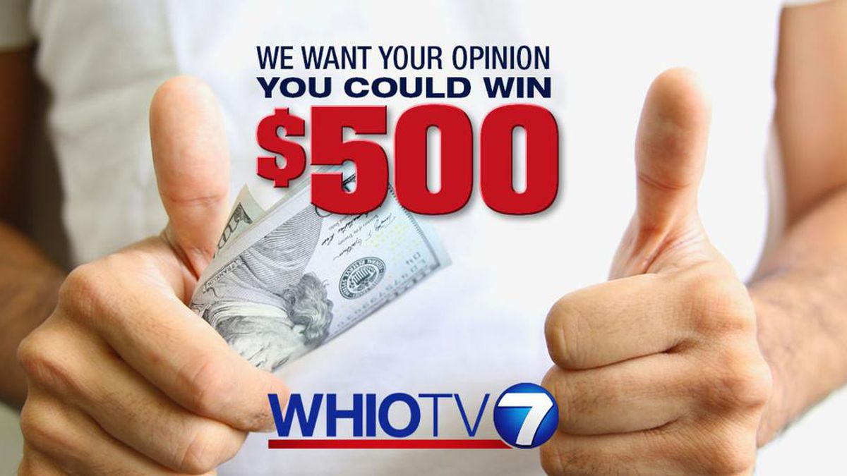 You could win $500 by taking the WHIO survey