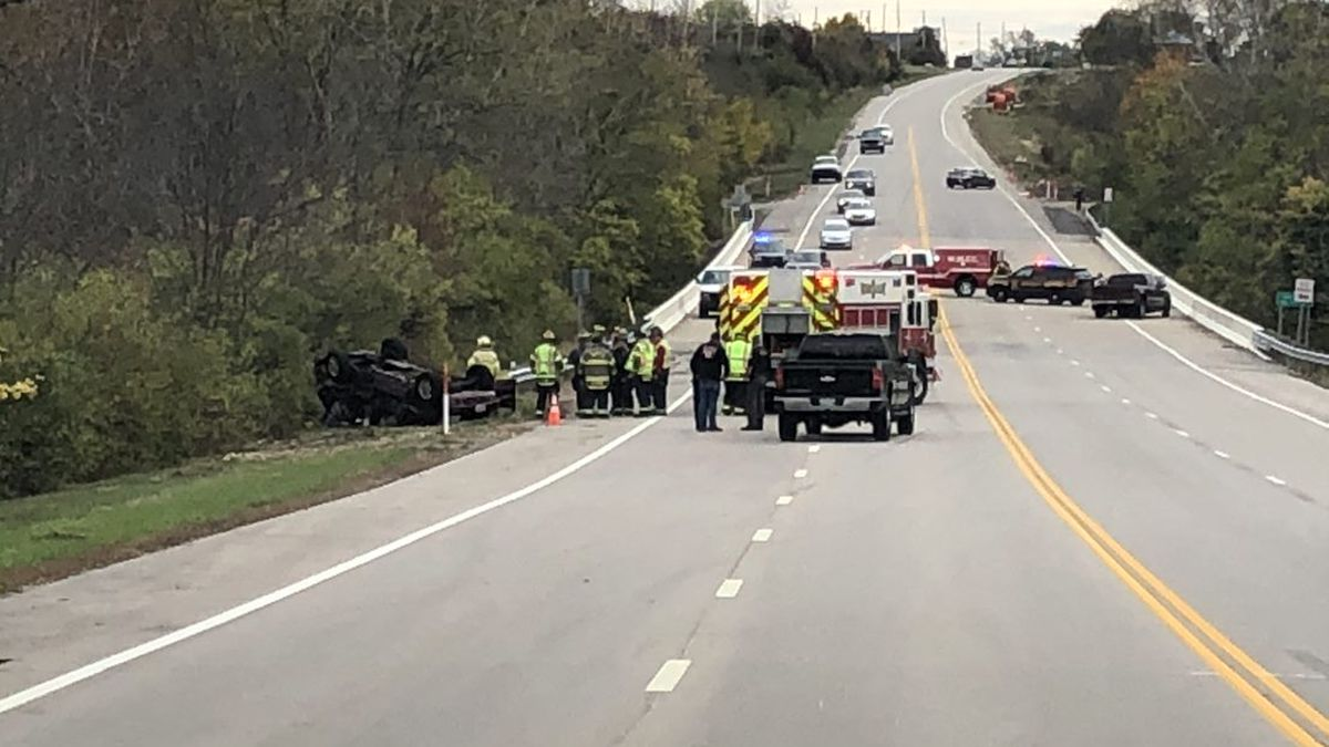 2 taken to the hospital after crash at SR 571 and 48 in West Milton