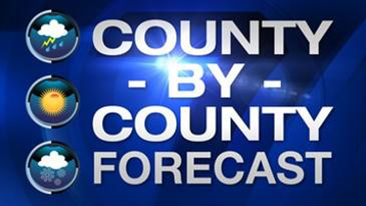 Know your forecast for your county