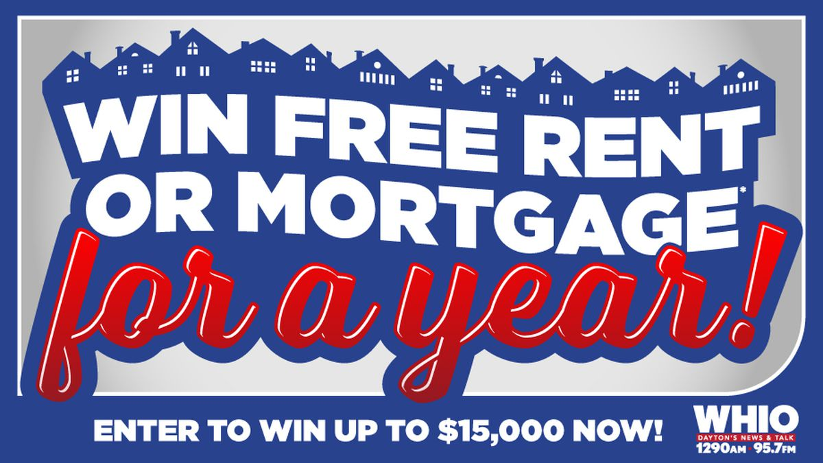 WHIO Radio wants to pay your mortgage or rent for a year!