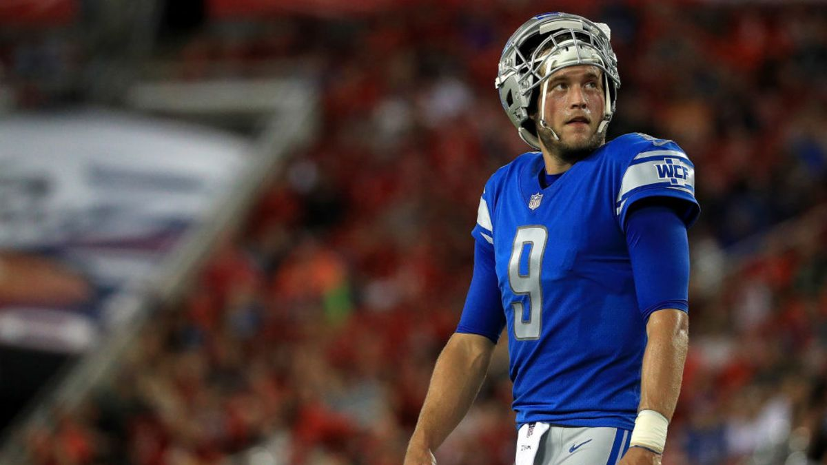 Coronavirus: Detroit Lions QB Matthew Stafford placed on reserve/COVID-19 list