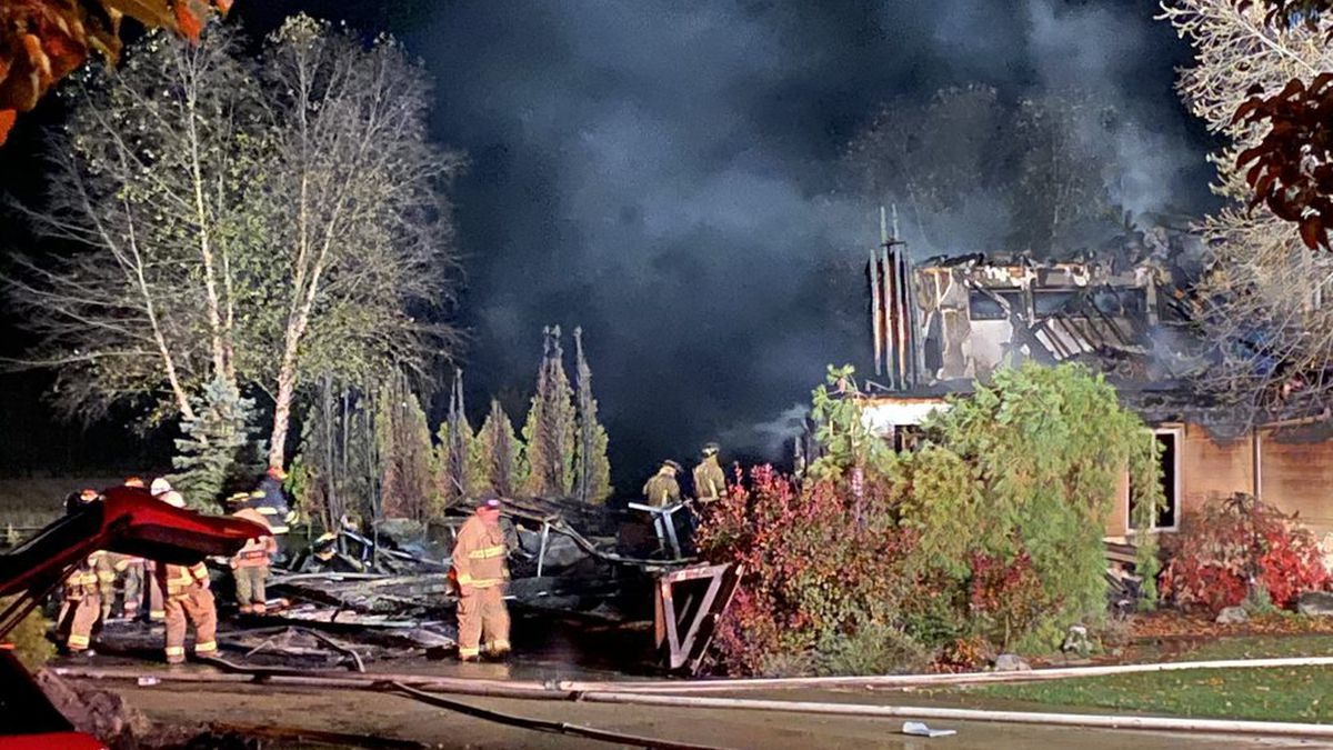 Twin Twp. home expected to be a total loss after fire Saturday morning