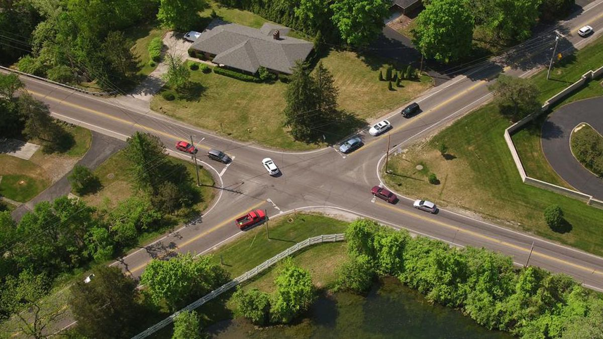 Roundabout coming tocongested Alex-Bell, Mad River roads intersection