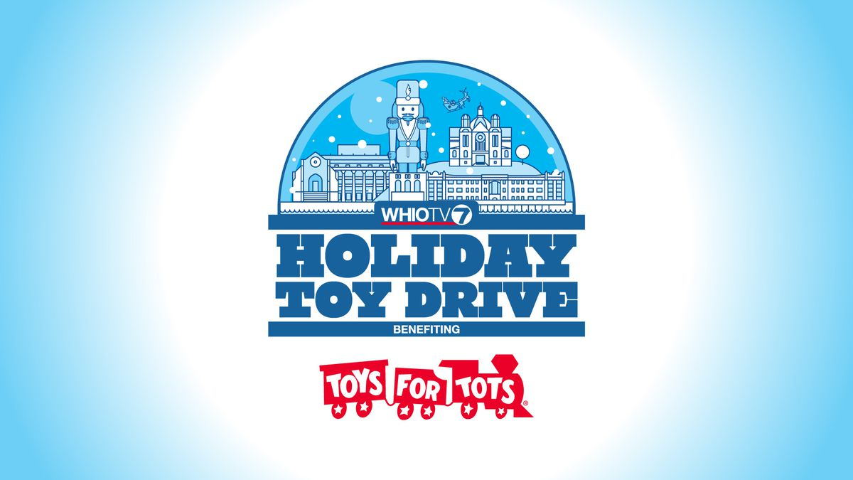 WHIO-TV holding Holiday Toy Drive, benefiting Toys for Tots
