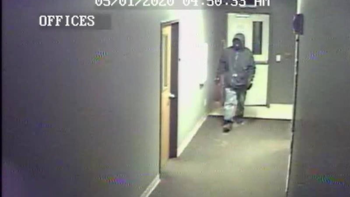 Can you help officers identify this person who broke into a Washington Twp. church?