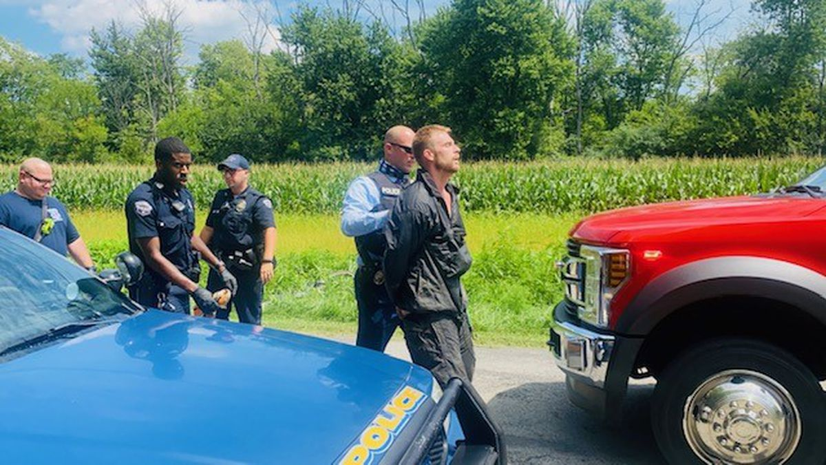Suspect's attempt to elude police for a third time in nearly 4-hour span fails