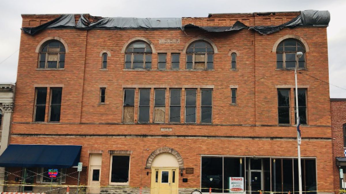 Future of former Miami County courthouse, jail unknown months after tornado hit it