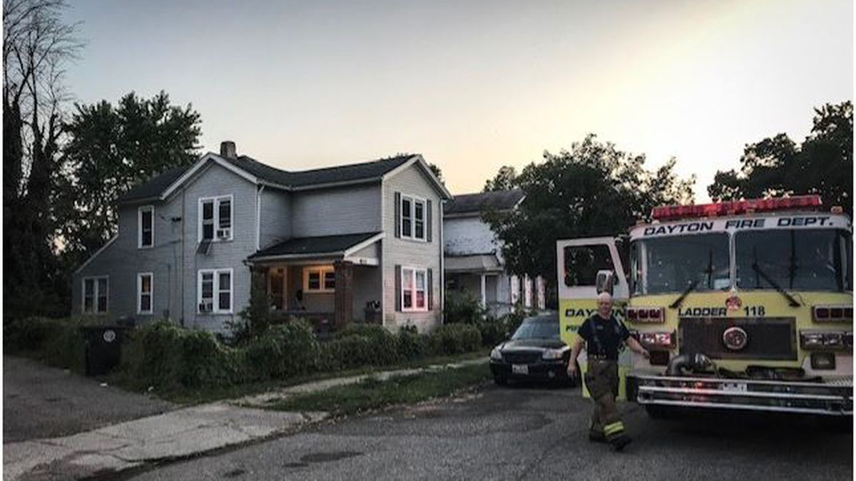 Family not injured in Dayton house fire battalion chief determines is accidental