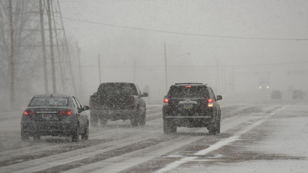 Darke county under Level 1 Snow Emergency