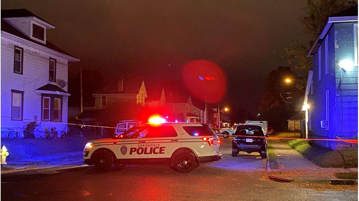 Police investigate shooting on Cedar Street in Springfield
