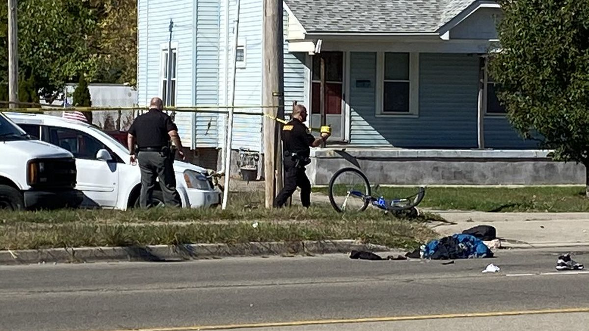 Cyclist in critical condition after hit in crash in Harrison Twp. Saturday