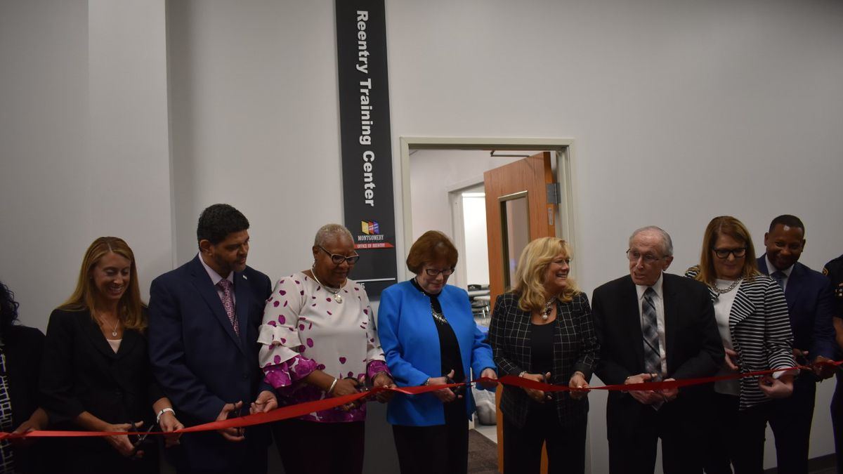 Grand opening held for new Montgomery County Reentry Training Center