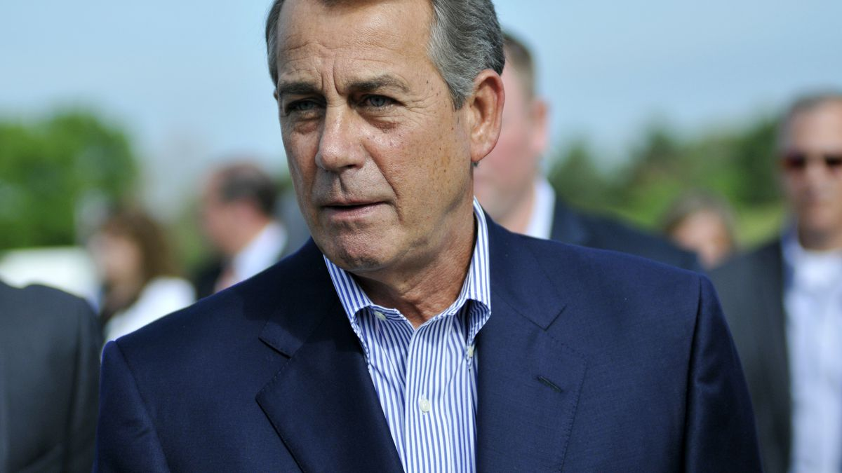 John Boehner to be honored by Boy Scouts