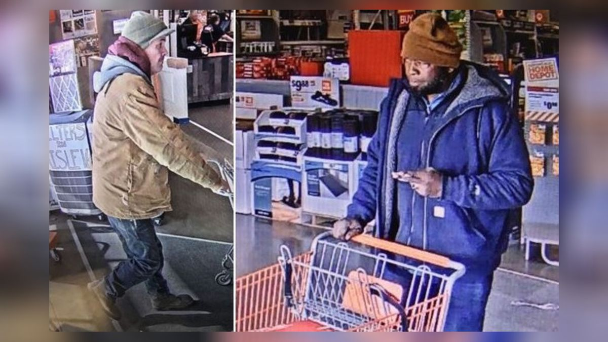 Can you ID pair involved in Miamisburg Home Depot attempted tool theft?