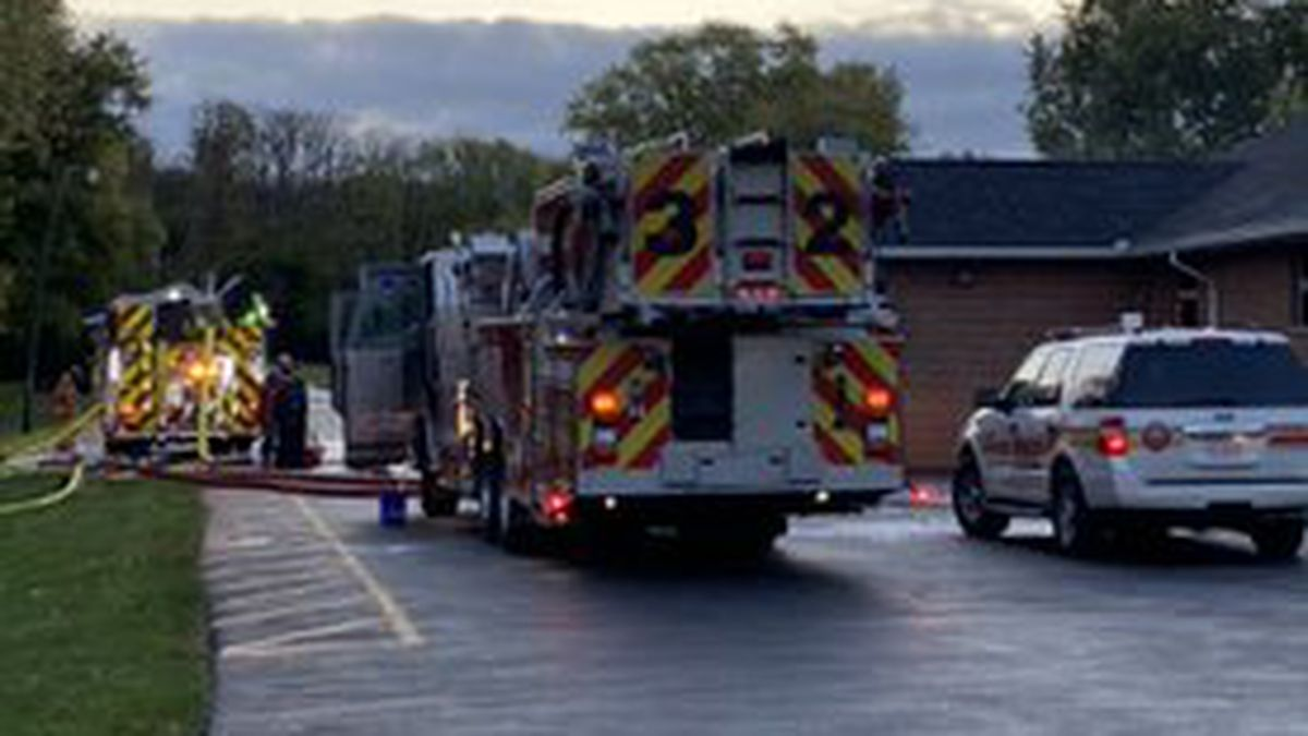 Polling location in question after fire at Kettering church