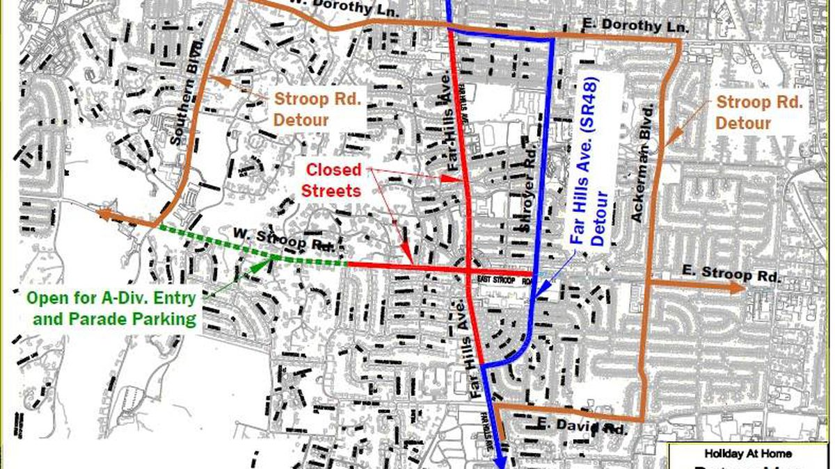 Expect detours in Kettering this weekend amidst Holiday at Home festival