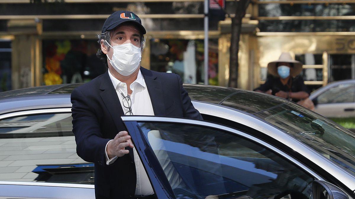Ex-Trump attorney Michael Cohen taken back into federal custody