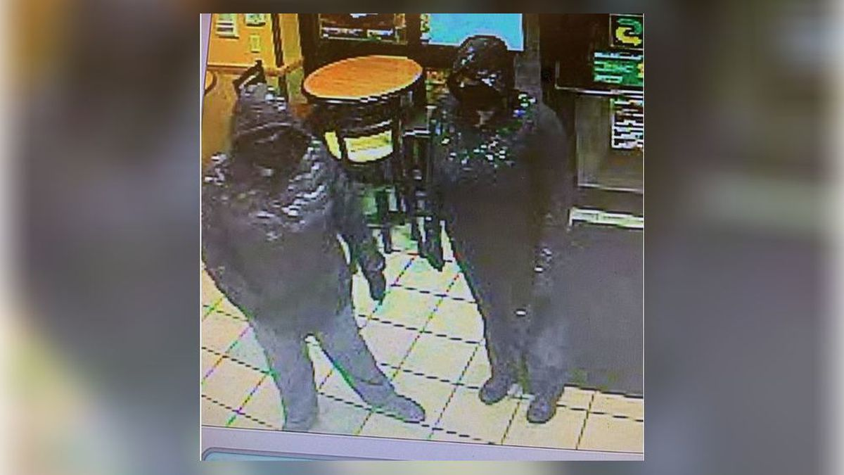 UPDATE: Police release photo of 2 masked, armed women in Subway holdup