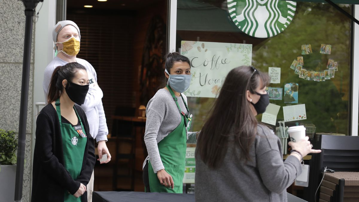 All U.S. Starbucks locations to require customers to wear masks soon